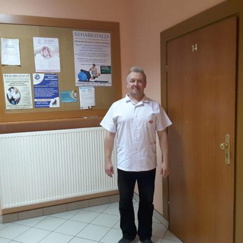 mgr Jarosław Kaczor - właściciel Rehabilitacji