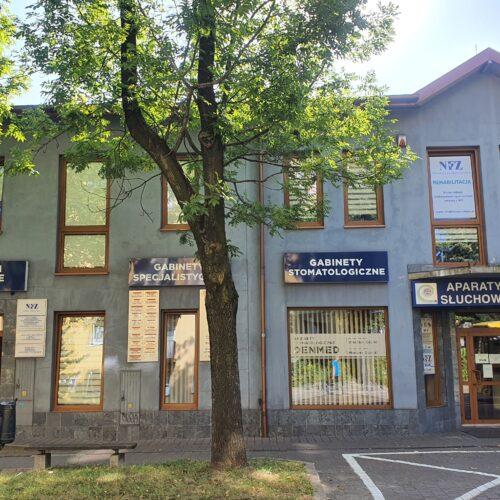 Budynek w którym znajduje się nasz gabinet - Rehabilitacja
